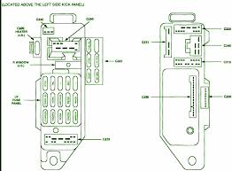 98 ford f 150 fuse panel diagram 98 automotive wiring diagrams 1998 ford escort lx 4 fuse box diagram