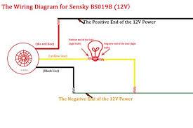 ceiling motion sensor wiring diagram ceiling image sensky bs019b dc 12v corridor toilets human body infrared detector on ceiling motion sensor wiring diagram