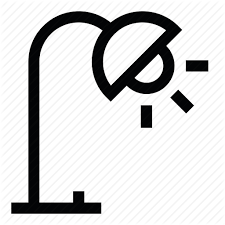 icon lighting. lamp light bulb lighting icon e