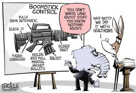 gun control cartoon lock and load radio your nd amendment  gun control cartoon