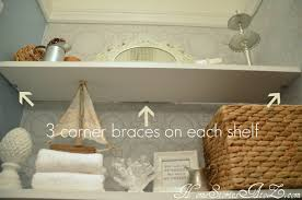 how to install floating shelf