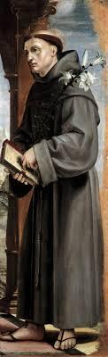 san antonio de padua - Bernardo Zenale | Wikioo.org – La Enciclopedia de  las Bellas Artes