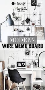 Modern Memo Board Modern Style Home Office Memo Board Mood Board ad Would Love to 35