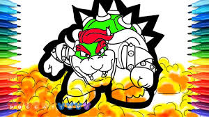 How To Draw Super Mario Odyssey Mario Vs Bowser 86 Drawing