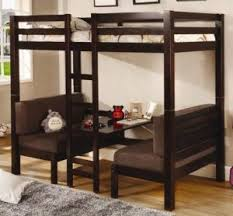 Full size bunk bed with desk Youth Coaster Twin Size Convertible Loft Bed With Desk Daringabroad 10 Best Loft Beds 2018 Loft Bed Indepth Review value For Money
