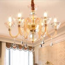 contemporary led crystal chandelier lights european style glass drop lights luxury living room dinning room led chandelier lamps vintage chandeliers kitchen