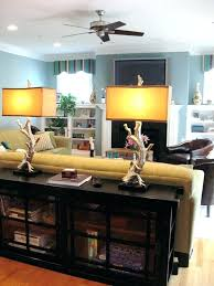 black sofa table with storage. Sofa Table With Shelves Behind Bookcase Storage Family Room Eclectic None Black