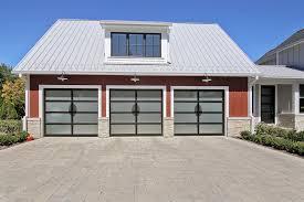 d d garage doorsCustom Matching Garage Doors  Modern Style  Custom Wood Front