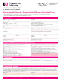 College Templates 139 Printable College Application Form Templates Fillable