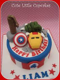 Avengers Birthday Cake Heidi Stone Flickr