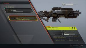 Light Of The Legion Anthem Anthem Fort Tarsis Light Of The Legion Weapon Stats Legendary Marksman Rifle Equipped 2019