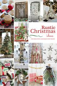 Rustic Christmas Ornaments Have Yourself A Very Rustic Christmas Fynes Designs Fynes Designs