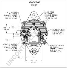 mda alternator product details leece neville mda3922 rear dim drawing