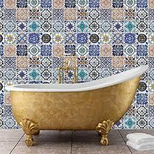 mosaic tile patterns. Interesting Mosaic Walplus 54x54 Cm Wall Stickers U0026quotMosaic Tile Patternsu0026quot Removable  SelfAdhesive Mural Intended Mosaic Patterns I