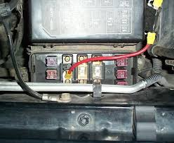 accessory relay always on power ih8mud forum i put a 30 amp self resetting breaker in series the 8 wire wrapped in black tape next to the fuse box i need to go back tidy up the installation