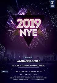 new year s template new year eve 2019 free flyer template for new year parties