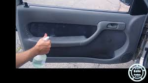 Tam m (carros de até 4,20m). Como Limpar Os Forros De Tecidos Das Portas Do Carro Youtube