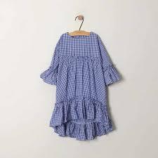 Baby <b>Girl Dress Summer Kids</b> Half Sleeve Cotton Striped Casual ...