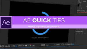 Animated Charts After Effects Easy Animated Pie Chart Infographic After Effects Cc Quick Tips