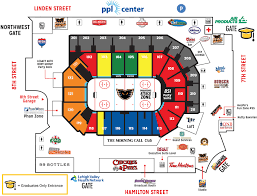 Ppl Center Allentown Pa Seating Chart Commencement Baccalaureate