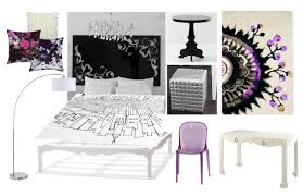 ... Bedroom Purple And Black Popular Black And White And Purple With Black  White Purple Purple ...