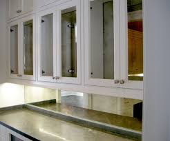 Mirrored Kitchen Cabinet Doors Mirrored Kitchen Cabinets With Regard To Your Home