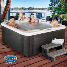inflatable hot tub costco uk. divine hot tubs blakely 65-jet, 5-person spa inflatable tub costco uk i