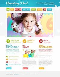 Kids School Website Template Primary School Psd Template 41767 School Website