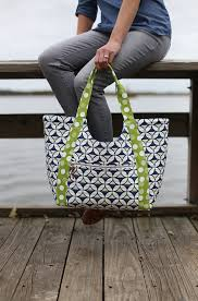 Tote Pattern Adorable Poolside Tote PDF Pattern Noodlehead