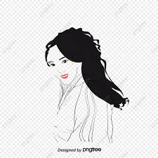 Fashion Girl Vector Decoration Beauty Png And Vector With