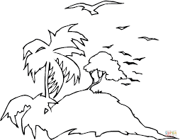Small Picture Seagulls At Island coloring page Free Printable Coloring Pages