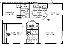 Modern Style House Plan  2 Beds 100 Baths 800 SqFt Plan 8901800 Square Foot House Floor Plans