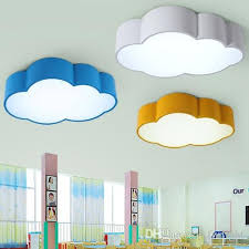 lighting for nursery room. 2018 Led Cloud Kids Room Lighting Children Ceiling Lamp Ba Throughout Nursery Light Renovation For