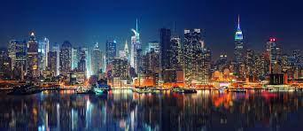 Photo wallpaper New York skyline at ...
