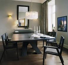 Traditional Dining Room Chandeliers With Black Solid Wood Dining - Traditional dining room set