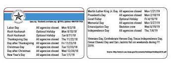 fiscal year 2019 dates state employee holidays for fy 2019