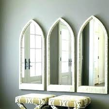 large arched mirror. Arched Floor Mirror Staggering Bone Coordinates With Second Bathroom Large