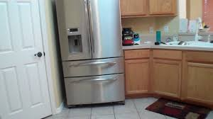 french door refrigerator in kitchen. French Door Refrigerators White Refrigerator Corner Small Kitchen With Wooden In R
