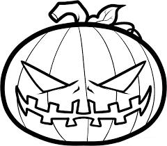 Small Picture Halloween Pumpkin Coloring Sheet Fun for Halloween