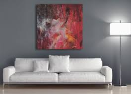 pink brown grey canvas art wall art contemporary modern  on pink and brown wall art with original pink grey brown and orange abstract canvas wall art print