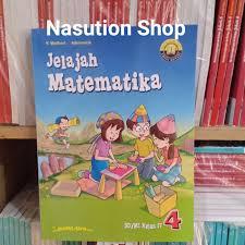 Jika ayah membelikan rio 10 buku tulis @ rp 2.000, 5. Jual Buku Jelajah Matematika Kelas 4 Sd K13 Yudhistira Jakarta Timur Nasution Shop Tokopedia