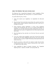 Toastmaster Trc5 User Manual Page 8 12
