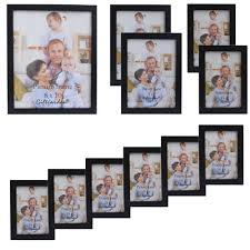 multiple picture frames wood. Giftgarden Wood Photo Frame Black Picture Frames For Living Room And Posters, Set Of 11 PVC Covering Front-in From Home \u0026 Garden On Multiple