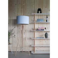 Zuiver Vloerlamp Tripod Hout Wit Nordic Living