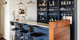 Full Size of Bar:built In Bar Wonderful Home Bar Area A Clean And Organized  ...
