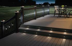 deck stair lighting ideas. Recessed Patio Lights Deck Stair Lighting Ideas