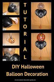 DIY <b>Halloween Decoration</b> with <b>Balloons</b>   Step-by-Step Tutorial