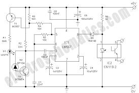 infrared model train detector circuit infrared model train detector schematic