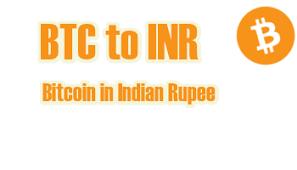 Convert Bitcoin Btc To Indian Rupee Inr 267 698 58 Inr