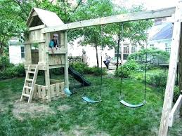 kid outdoor fort a fun with view plans top docs kids outside forts playhouse architectures around